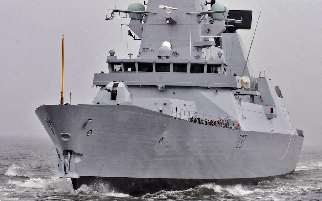 The Royal Navy already has a destroyer in the Gulf to protect British shipping - PA