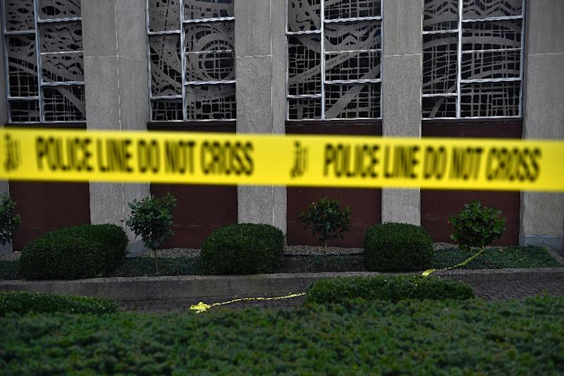 A shooting at Mercy Hospital in Chicago follows the worst ever anti-Semitic attack in modern US history, in Pittsburgh on October 27, 2018
