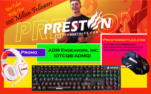Gamer Preston Adds Electronics to His Fire Merch Line