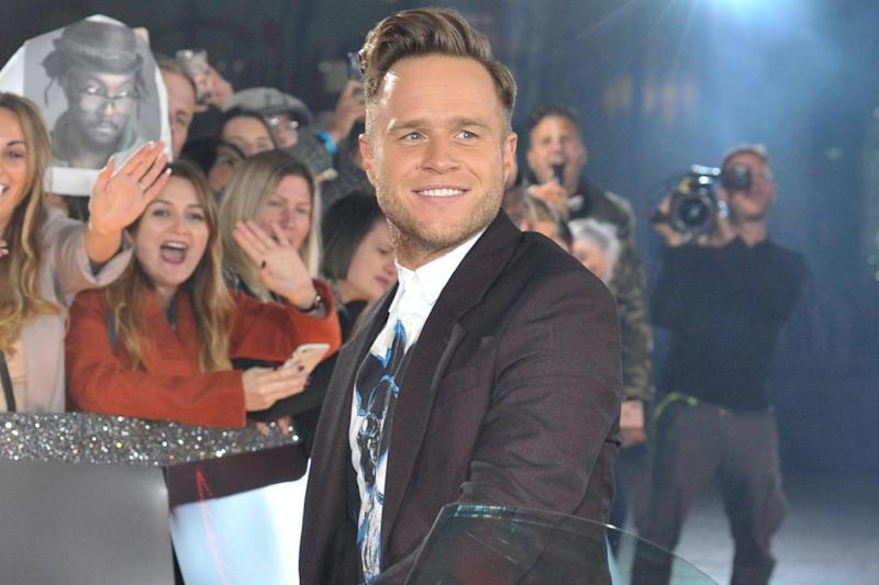 Thankful: Olly Murs was relieved the incident was a scare (SplashNews.com)