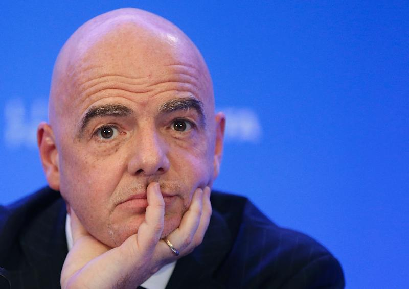 FIFA President Gianni Infantino had strongly backed the idea of an expanded, 48-nation World Cup in Qatar in 2022 (AFP Photo/RHONA WISE)