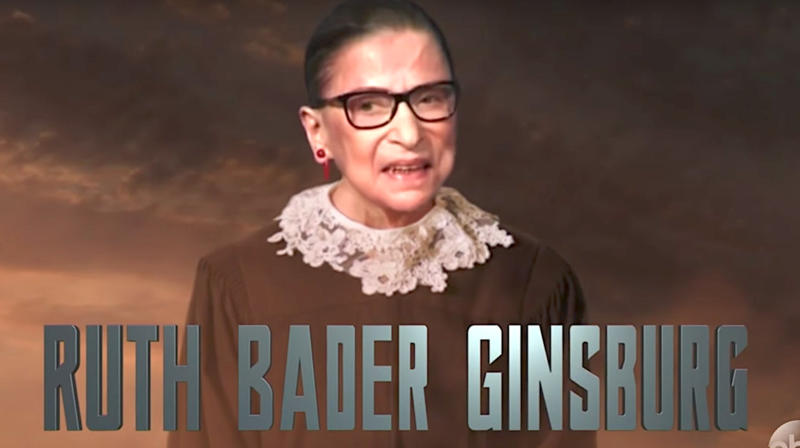 Jimmy Kimmel Turns Ruth Bader Ginsburg Into A Badass 'Justice League' Superhero