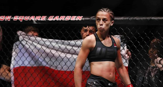 Joanna Jedrzejczyk promises a different outcome in the rematch vs. Rose Namajunas on April 7 at UFC 233 at the Barclays Center in Brooklyn. (AP)