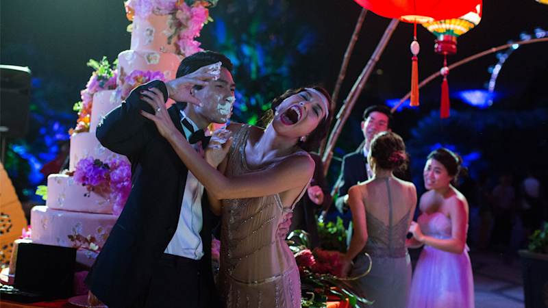 Singapore's iconic Gardens By The Bay was where Amraminta and Colin's wedding reception was filmed. Source: Roadshow Films, The ultimate Crazy Rich Asians guide to Singapore