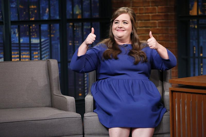 Saturday Night Live Star Aidy Bryant Reveals She Got Engaged to Conner O'Malley Last Year
