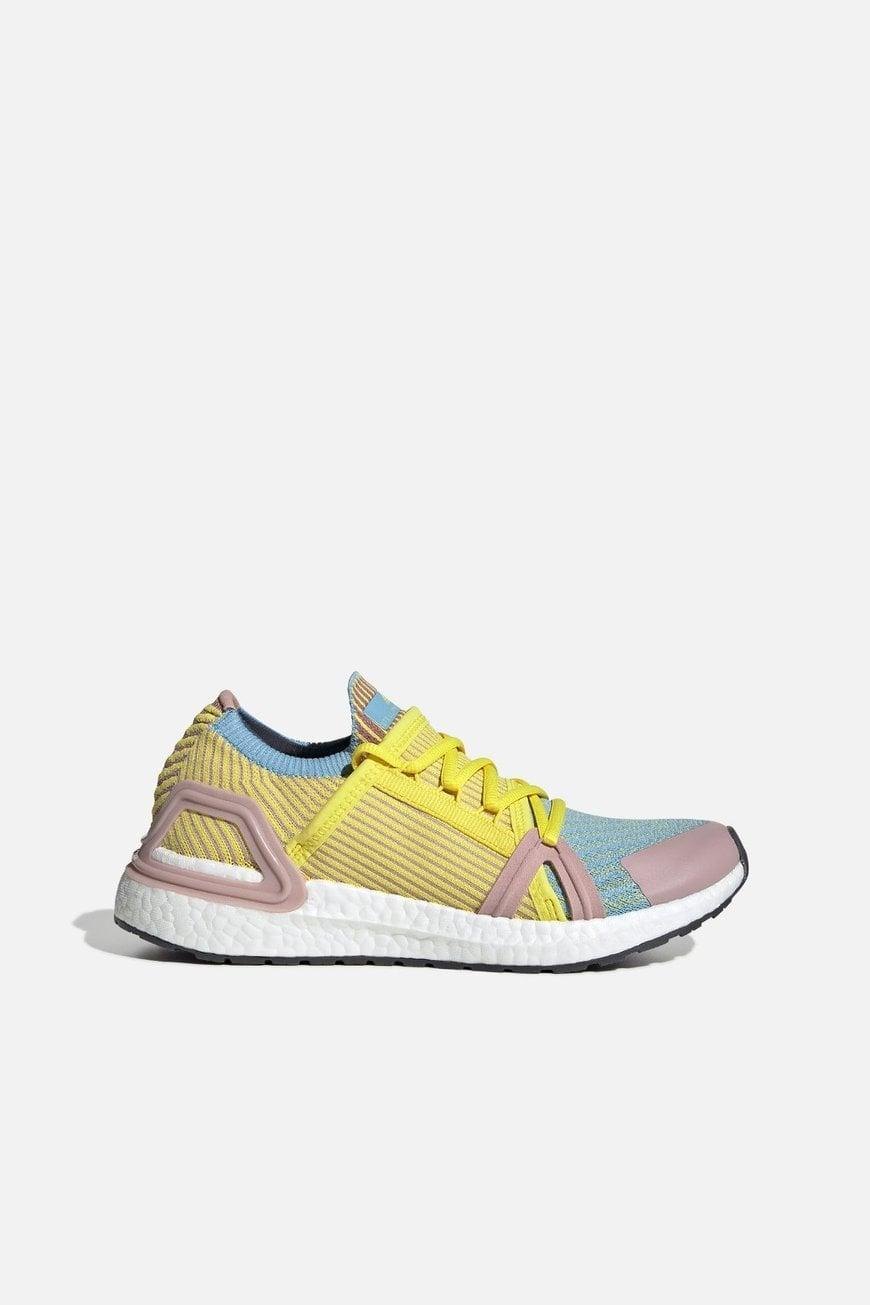 "<p>These colorful <a href=""https://www.popsugar.com/buy/Adidas-Stella-McCartney-Ultraboost-20-S-567203?p_name=Adidas%20by%20Stella%20McCartney%20Ultraboost%2020%20S.&retailer=bandier.com&pid=567203&price=230&evar1=fit%3Aus&evar9=47407221&evar98=https%3A%2F%2Fwww.popsugar.com%2Fphoto-gallery%2F47407221%2Fimage%2F47407231%2FAdidas-by-Stella-McCartney-Ultraboost-20-S&list1=shopping%2Cshoes%2Csneakers%2Cbandier&prop13=api&pdata=1"" class=""link rapid-noclick-resp"" rel=""nofollow noopener"" target=""_blank"" data-ylk=""slk:Adidas by Stella McCartney Ultraboost 20 S."">Adidas by Stella McCartney Ultraboost 20 S.</a> ($230) are super supportive.</p>"
