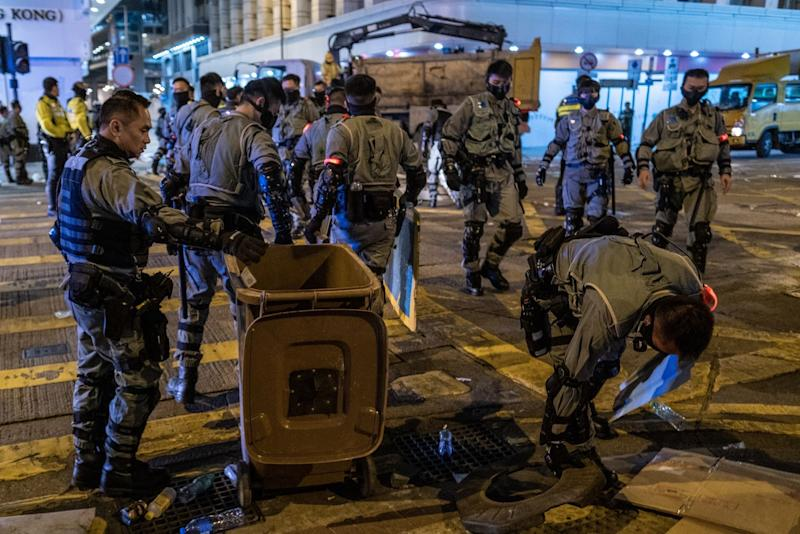 Hong Kong's Police Overtime Bill Tops $120 Million During Protests