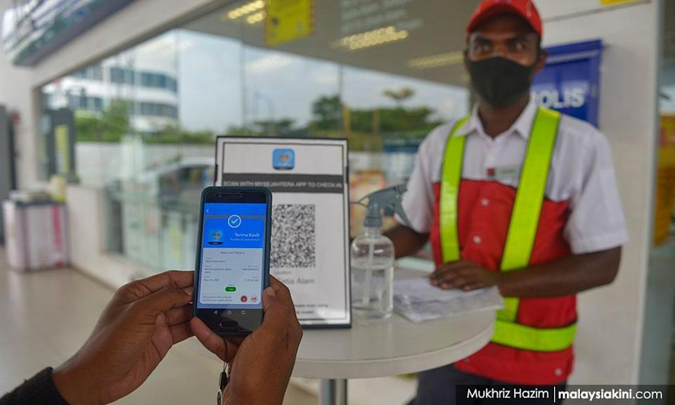Najib: Add 'exposure notification' on MySejahtera to aid contact tracing