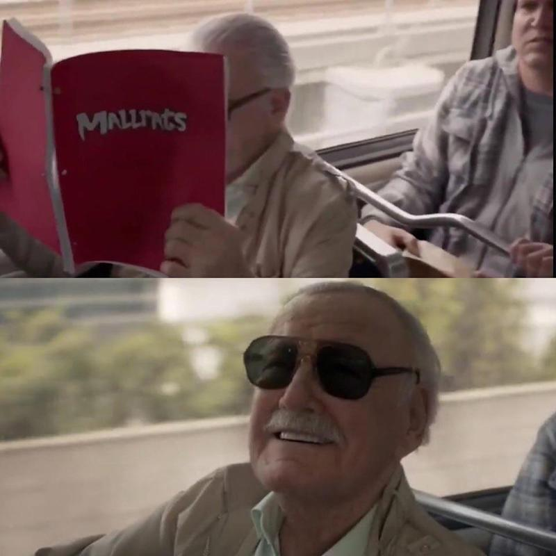 Stan Lee in Captain Marvel (Credit: Disney)