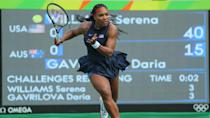 """<p>Serena Williams, the """"Grand Slam Goddess"""" and four-time Olympic gold medalist, has earned $94 million in career prize money. That's more than twice as much as not just any other female tennis player, but any other woman athlete of any sport, period.</p> <p>One of the top-earning athletes of 2021, she took in $41.5 million this year, according to Forbes, has nearly 20 corporate partners, and has built a $10 million portfolio with investments in more than 50 companies through her firm Serena Ventures. In 2021, she signed a deal with Amazon to produce a docuseries about her life.</p> <p><small>Image Credits: Leonard Zhukovsky / Shutterstock.com</small></p>"""