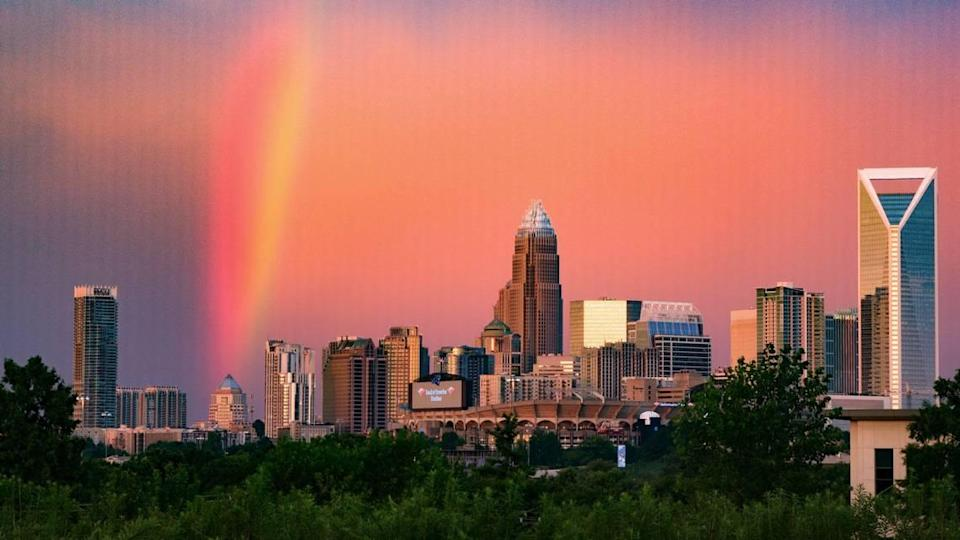 A shot of Charlotte's skyline, taken by photography enthusiast Steve Ohnesorge.