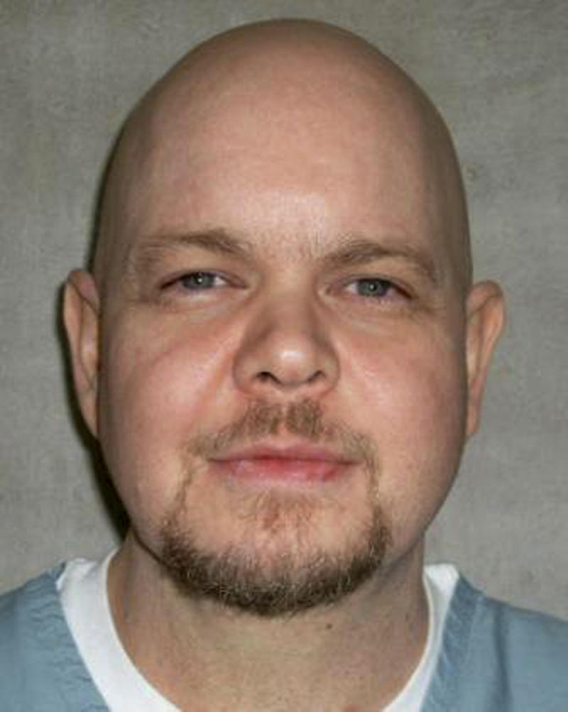 In this photo provided by the Oklahoma Department of Corrections, Timothy Stemple is pictured in an undated photo.  Stemple is scheduled to be executed Thursday March 15, 2012 for the 1996 murder of his 30-year-old wife, Trisha Stemple.(AP Photo/Oklahoma Department of Corrections)