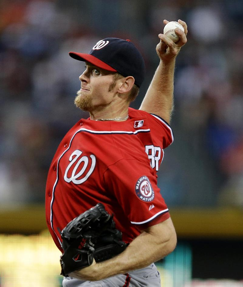 Nats beat Braves 8-7 on LaRoche's HR in 15th