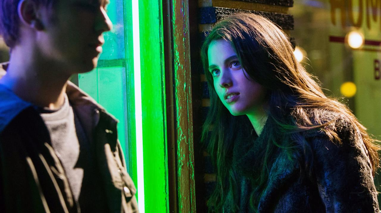 <p>In this creepy supernatural thriller, Qualley plays a teenager who takes on crime as part of a vigilante duo, but is tempted by the power of a deadly, haunted notebook.</p>