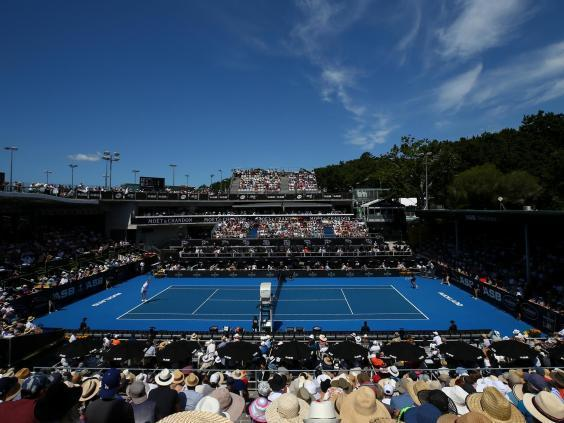 The two finalists go head to head in Auckland (Getty Images)