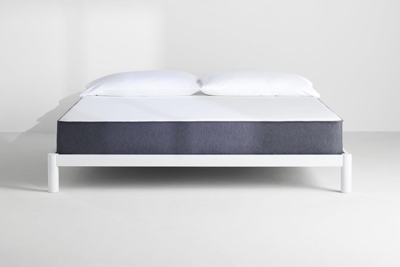 """<p>OK, be honest: how old is your mattress? If the answer is """"I don't know"""" then . . . uh-oh. If you know it's older than five years, then answer <a href=""""https://www.consumerreports.org/cro/news/2007/12/q-a-how-often-should-i-buy-a-new-mattress/index.htm"""" target=""""_blank"""" class=""""ga-track"""" data-ga-category=""""Related"""" data-ga-label=""""https://www.consumerreports.org/cro/news/2007/12/q-a-how-often-should-i-buy-a-new-mattress/index.htm"""" data-ga-action=""""In-Line Links"""">Consumer Reports' four questions for determining whether it's time you buy a new mattress</a>. Even if it's not that old, if your current mattress isn't offering you the right kind of support, you can be sabotaging your sleep. An <a href=""""https://www.thesleepjudge.com/effects-of-sleeping-on-a-bad-mattress/"""" target=""""_blank"""" class=""""ga-track"""" data-ga-category=""""Related"""" data-ga-label=""""https://www.thesleepjudge.com/effects-of-sleeping-on-a-bad-mattress/"""" data-ga-action=""""In-Line Links"""">old or unsupportive mattress can cause all kinds of ill effects</a>, like hurting your back and exacerbating skin or breathing issues. And don't try to """"fix"""" a bad mattress by adding a mattress topper or new pillows; you'll still feel that mattress like the princess and the pea. Once you decide it's time to buy a new mattress, great! You're about to invest in the single most important element of your bed. </p> <p>Mattress comfort is extremely subjective, so it's impossible to point to any one mattress as the perfect one for everyone. There's a reason it's still a good idea to go to an actual mattress store and lie down on their offerings because only you can know what you like. But given that that's an expensive, old school way of doing things, you may be looking at a mattress from a direct-to-consumer company like Casper that sends it right to you (and most offer generous trial periods in case it's not your perfect fit). Casper actually does have <a href=""""https://stores.casper.com/?q=10036"""" target=""""_blank"""" class=""""ga-track"""" data-ga-ca"""