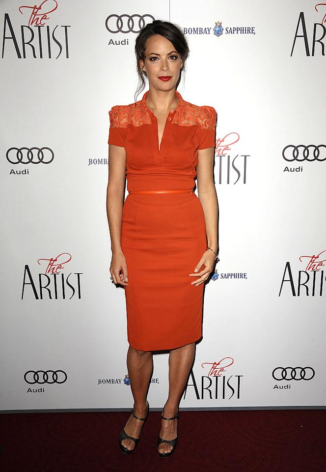 """<a href=""""http://movies.yahoo.com/movie/contributor/1804731652"""">Berenice Bejo</a> at the Los Angeles premiere of <a href=""""http://movies.yahoo.com/movie/1810224313/info"""">The Artist</a> on November 21, 2011"""