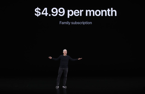 How the Price of Apple TV+ Compares to Netflix, HBO Now and Disney+