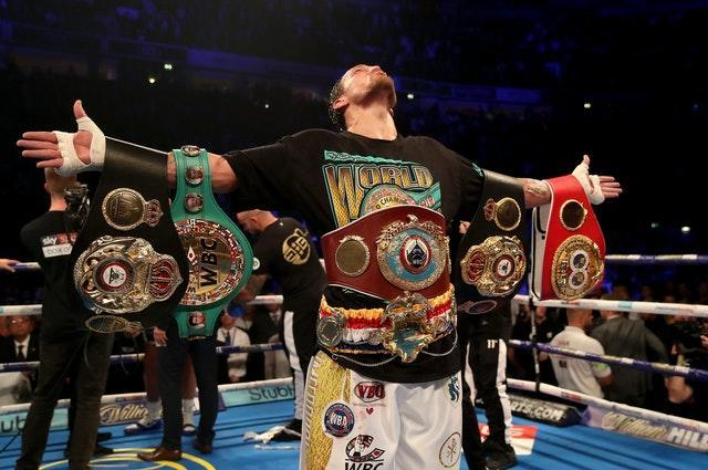Oleksandr Usyk is the former undisputed cruiserweight champion (Nick Potts/PA)