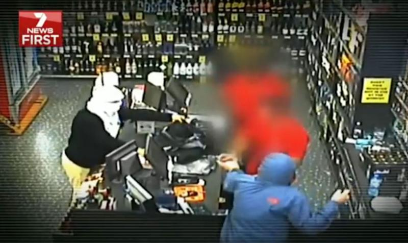 The gang have been involved in numerous offences including armed robberies. Source: 7 News
