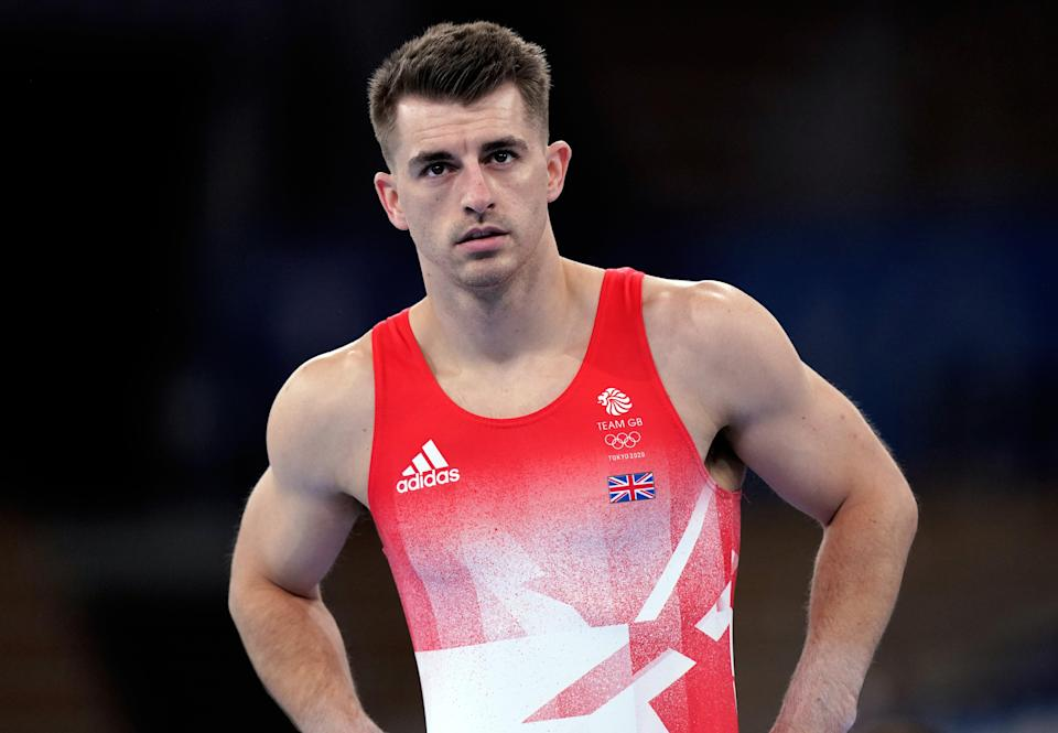 Max Whitlock safely negotiated pommel qualifying in Tokyo (Mike Egerton/PA) (PA Wire)
