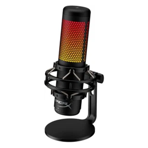 best microphone for streaming - HyperX QuadCast S RGB Microphone