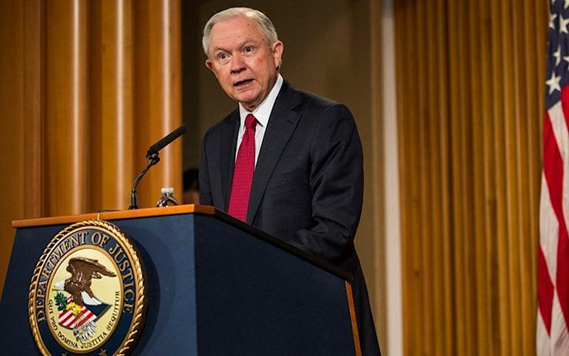 US attorney general Jeff Sessions - 2017 Getty Images