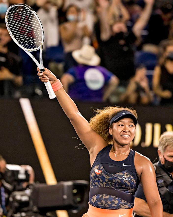 """<p>The tennis champ used her arrivals to the U.S. Open to spotlight Black victims of racial profiling and police brutality, wearing names like Breonna Taylor and George Floyd on her masks each day. """"It meant a lot to me that I could carry on their legacies,"""" she says. """"I was playing with a different purpose."""" </p>"""