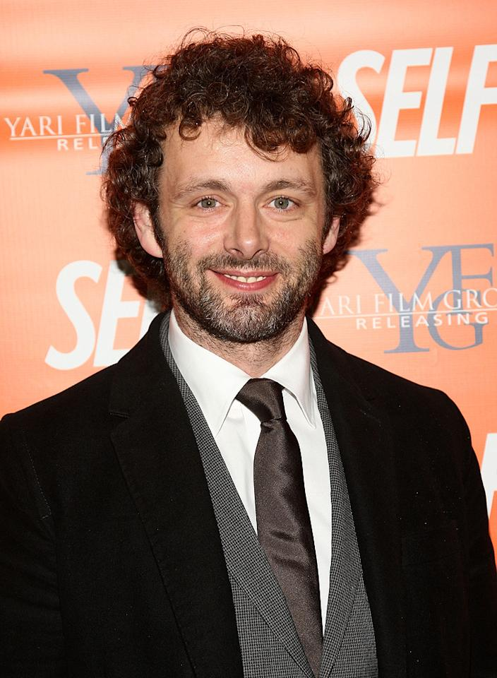 """<a href=""""http://movies.yahoo.com/movie/contributor/1802757622"""">Michael Sheen</a> at the New York screening of <a href=""""http://movies.yahoo.com/movie/1809944318/info"""">Nothing But the Truth</a> - 11/13/2008"""