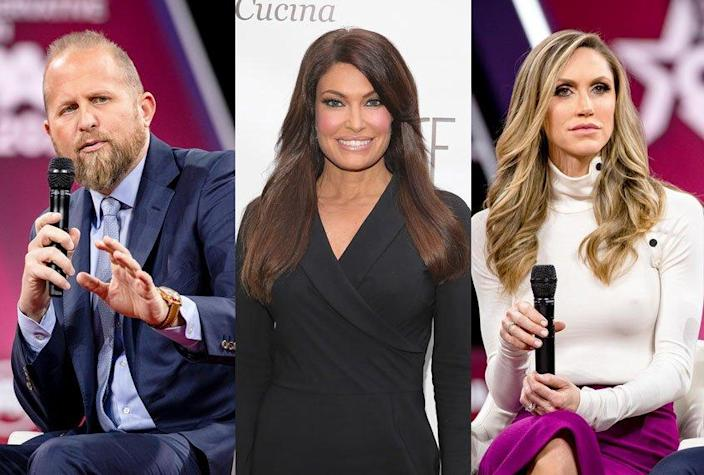 Brad Parscale; Laura Trump; Kimberly Guilfoyle