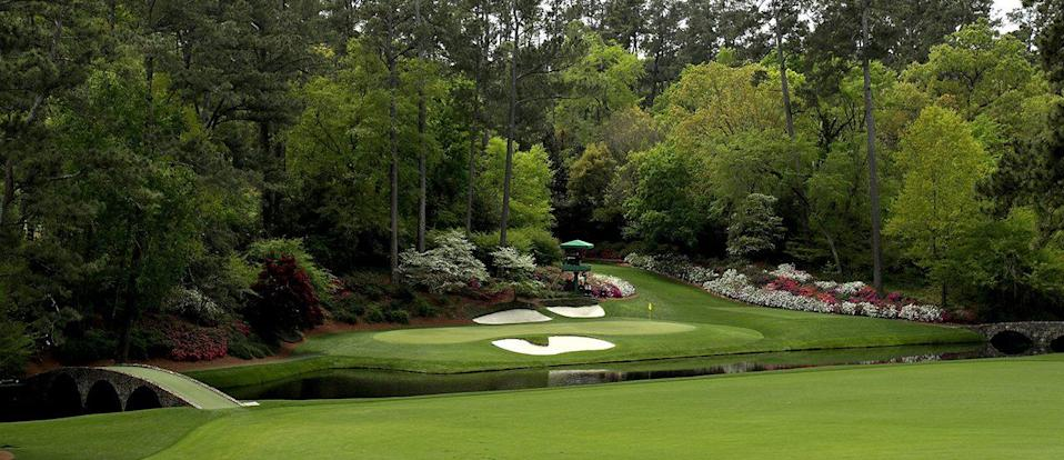 12th hole at Augusta