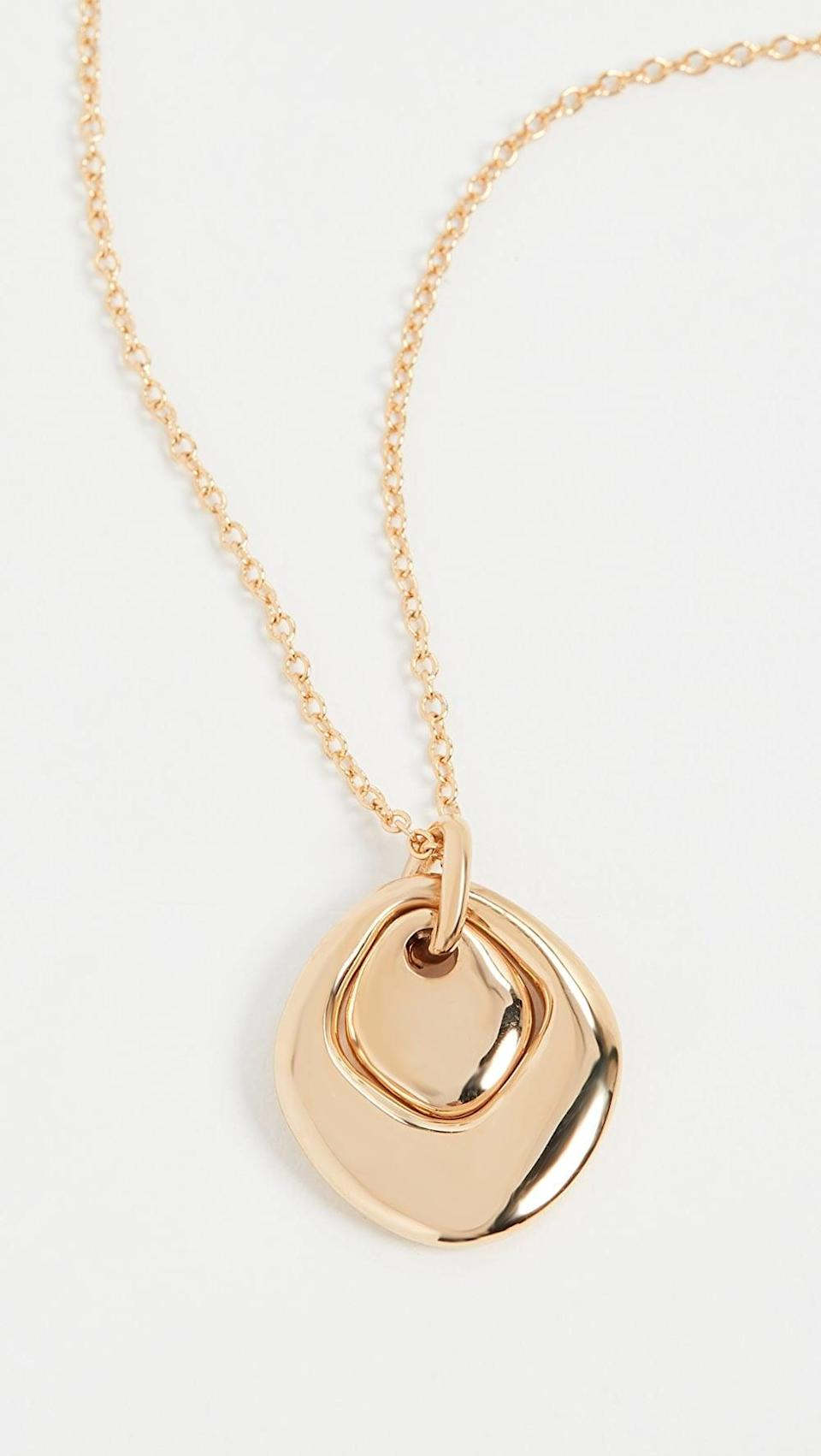 <p>This <span>Soko Neema Delicate Necklace</span> ($98) will instantly elevate any dress or sweater ensemble.</p>