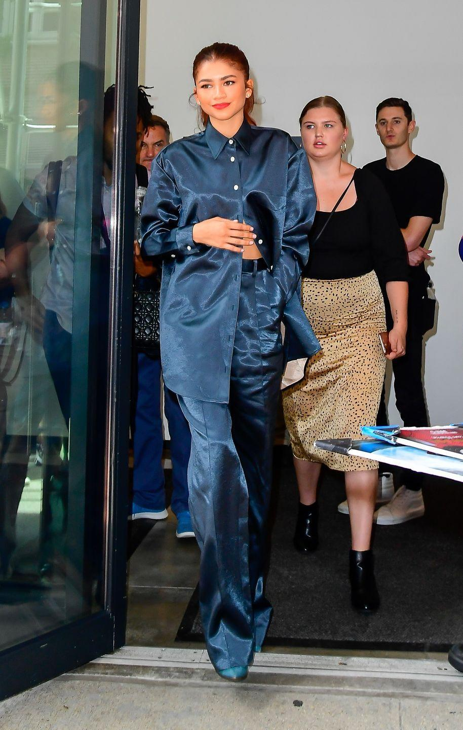 <p>Pajamas are no longer just for bedtime. Add a stylish heel or even a classic sneaker for a transitional outfit. All you have to do when you get home is take off the accessories, easy!</p>