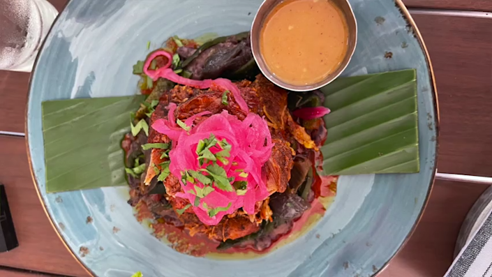 The Cochinita Pibil at Frontera Cocina in Disney Springs is a meal that our food experts say you cannot miss.