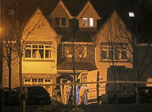 The bodies of three children were found in the home in Co Dublin (Picture: PA)