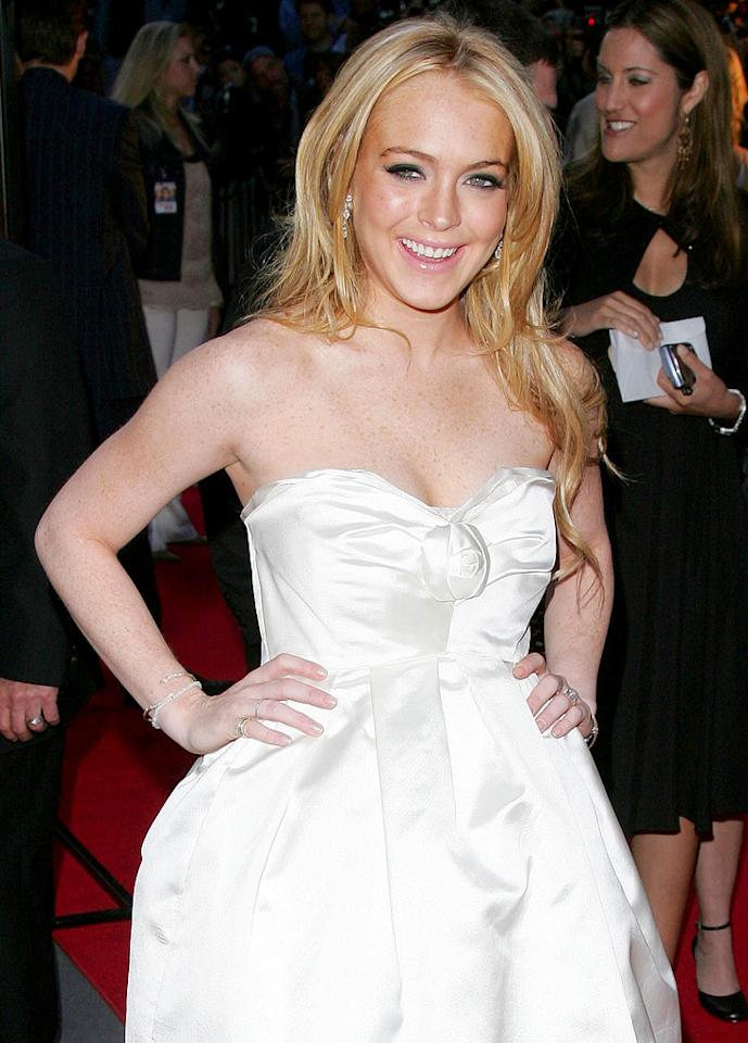 "Lindsay attends the premiere of ""Georgia Rule."" James Devaney/<a href=""http://www.wireimage.com"" target=""new"">WireImage.com</a> - May 8, 2007"