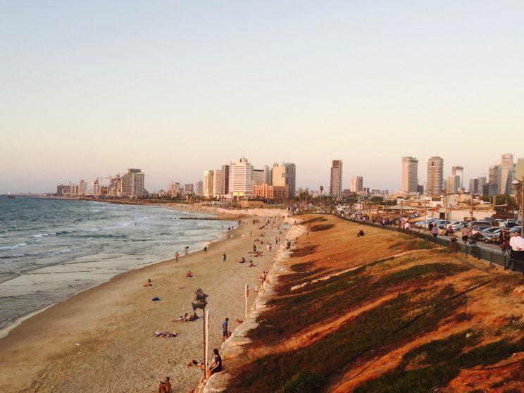 Where the Mediterranean meets the beach in Tel Aviv