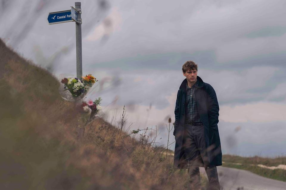 Billy Howle plays a police officer with PTSD (New Regency Television International/Scott Free/Britbox)