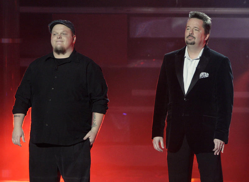 Cas Haley and Terry Fator