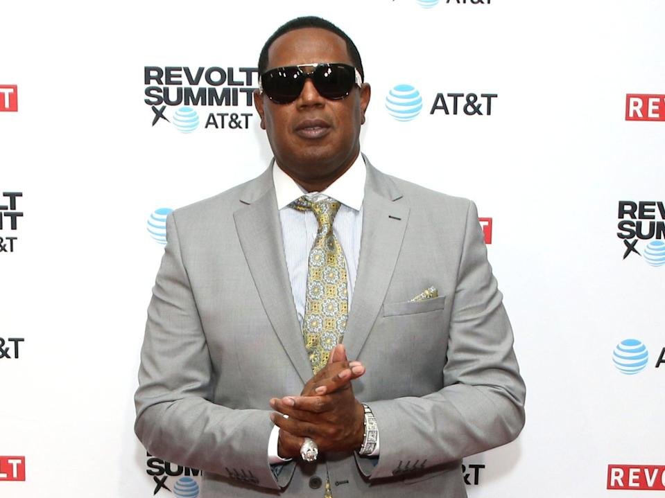 Master P at an event in Los Angeles, California, on 26 October 2019 (Phillip Faraone/Getty Images for REVOLT)