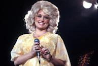 <p>Simply put, Parton is glowing. </p>