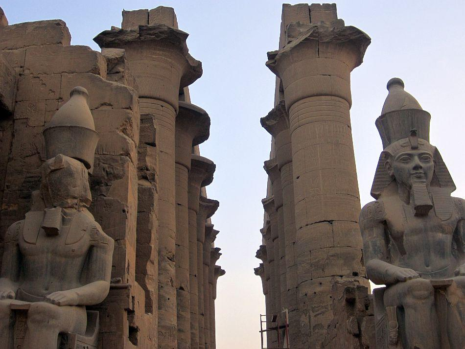 Proud Ramses II at Luxor Temple