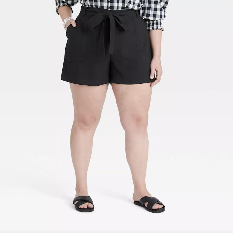 <p>These <span>A New Day High-Rise Tie Waist Shorts</span> ($20) feature functional pockets and a decorative bow, in addition to being comfortable.</p>