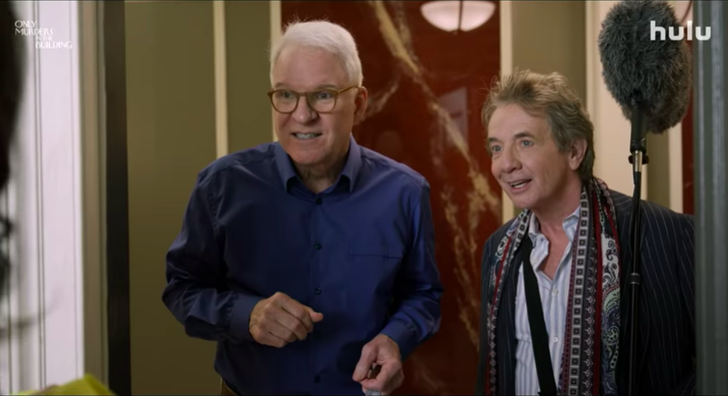 Steve Martin and Martin Short in Only Murders In The Building
