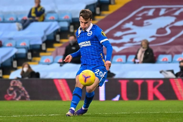 Brighton midfielder Solly March