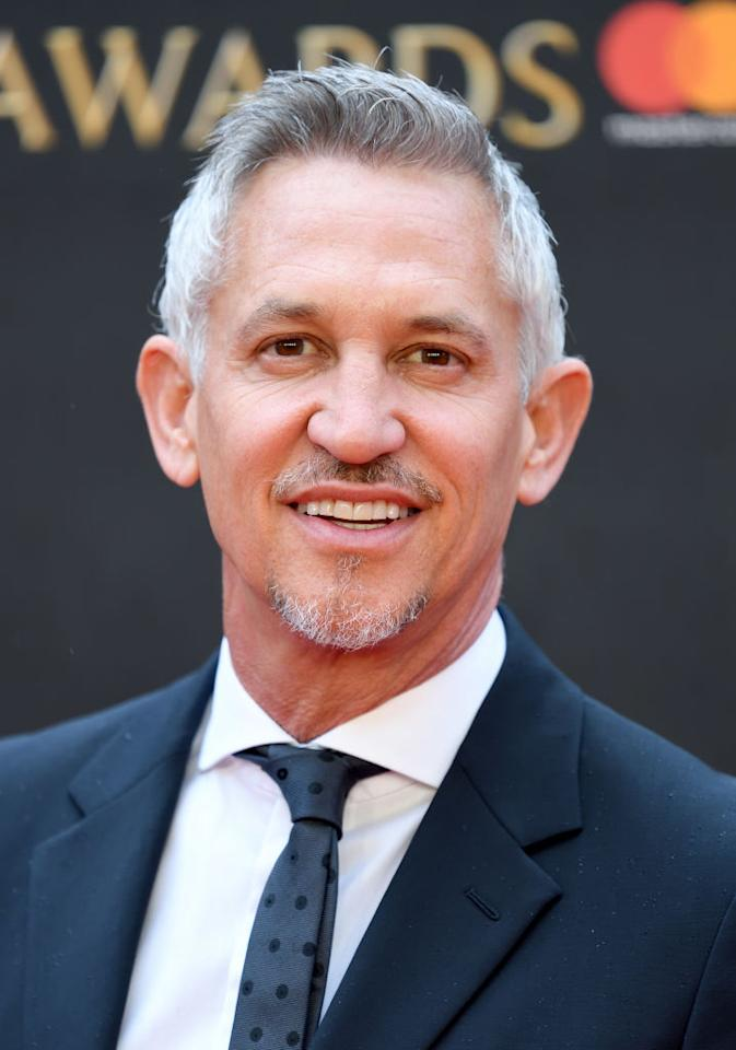 <p>Match of the Day presenter Gary Lineker earns a reported £1,750,000-£1,759,999. (Getty) </p>