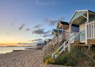 <p>With huge open views and mile of sand, Wells Beach is gorgeous - and you don't even have to fly to get there. </p>
