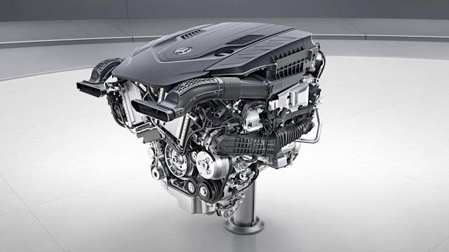 Mercedes-Benz 4.0L biturbo V8 (credit: Mercedes-Benz)