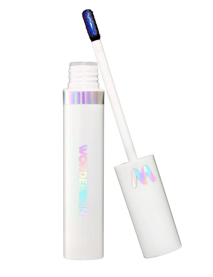 """<p>Once you try this lip product, you'll understand why it continues to sell out. It goes on metallic blue but peels away to reveal one of nine gorgeous hues that lasts all day.</p> <p><strong>Buy it!</strong> $32; <a href=""""https://wonderskin.com/products/wonderblading-for-lips"""" rel=""""sponsored noopener"""" target=""""_blank"""" data-ylk=""""slk:wonderskin.com"""" class=""""link rapid-noclick-resp"""">wonderskin.com</a></p>"""
