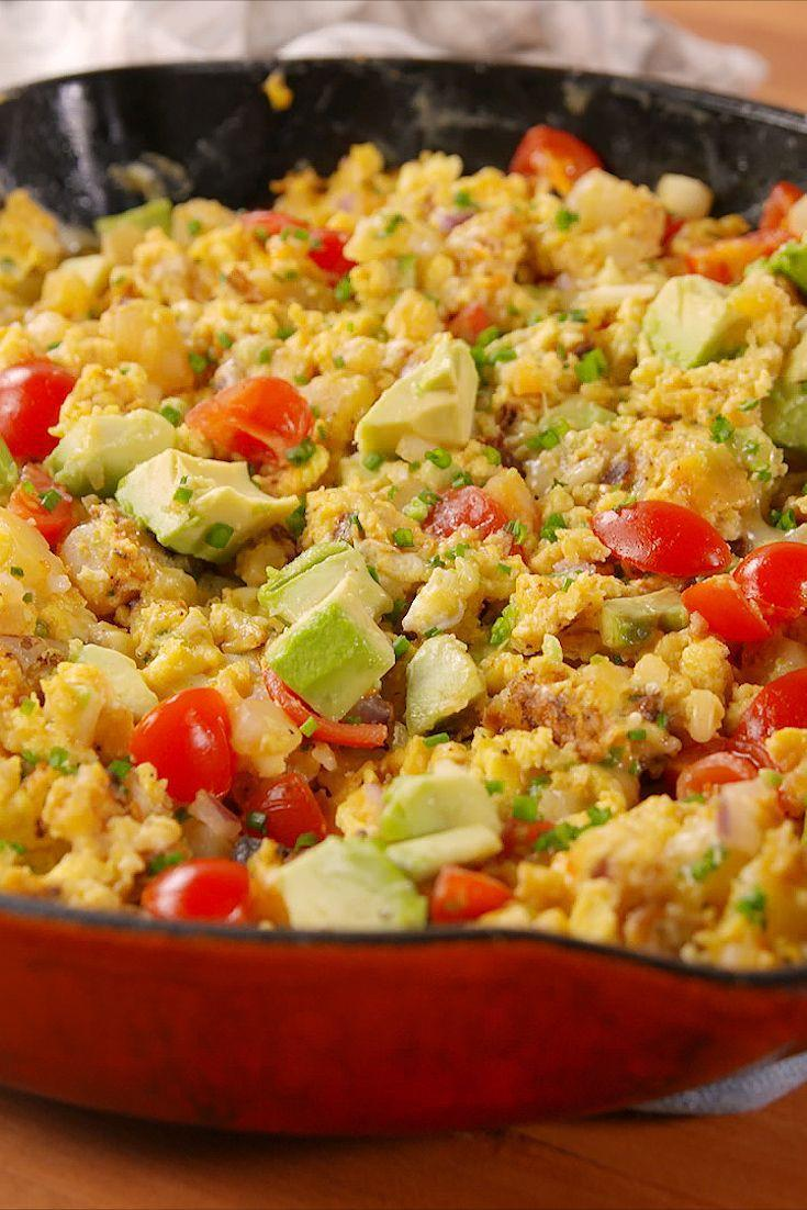"""<p>Californiaaaa, here we coooome...♫</p><p>Get the recipe from <a href=""""/cooking/recipe-ideas/recipes/a51655/california-breakfast-skillet-recipe/"""" data-ylk=""""slk:Delish"""" class=""""link rapid-noclick-resp"""">Delish</a>.</p>"""